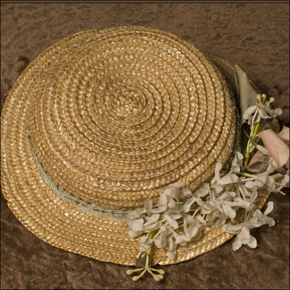 French Straw Hat