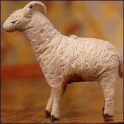 Antique Christmas ornament cotton RAM