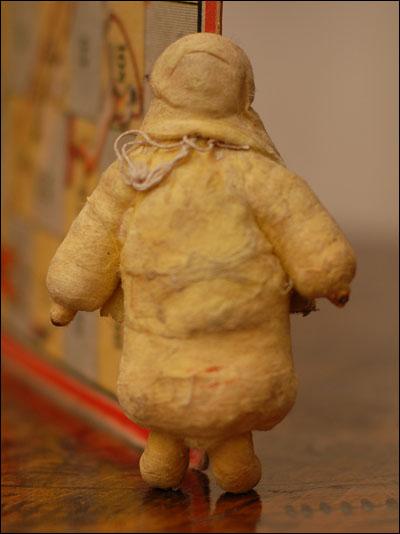 Antique Christmas ornament ESKIMO GIRL