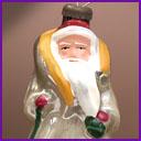 Antique CHRISTMAS ornament SANTA