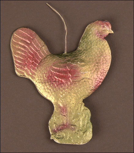 Antique Dresden Christmas ornament HEN