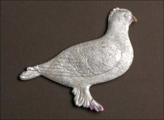 Antique Christmas ornament DOVE