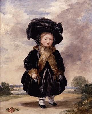 Королева Виктория в детстве