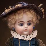 Ранняя кукла Mascotte с закрытым ртом,