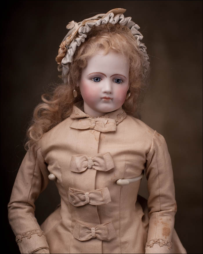 RARE Portrait Fashion Jumeau doll