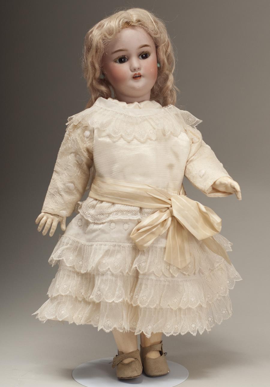 Очень редкая механическая ходячая кукла фирмы SIMON&HALBIG, ROULLET-DECAMPS с флиртущими глазами