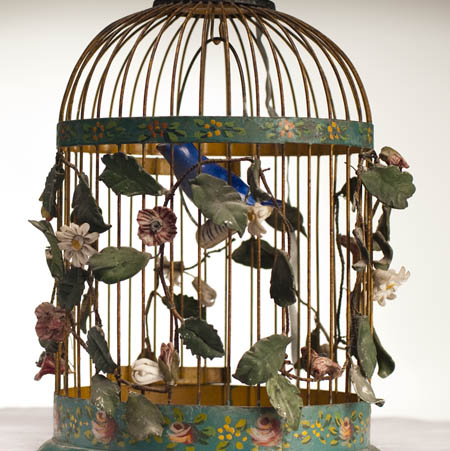 Antique German birdcage