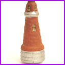 Antique Christmas ornament LIGHTHOUSE