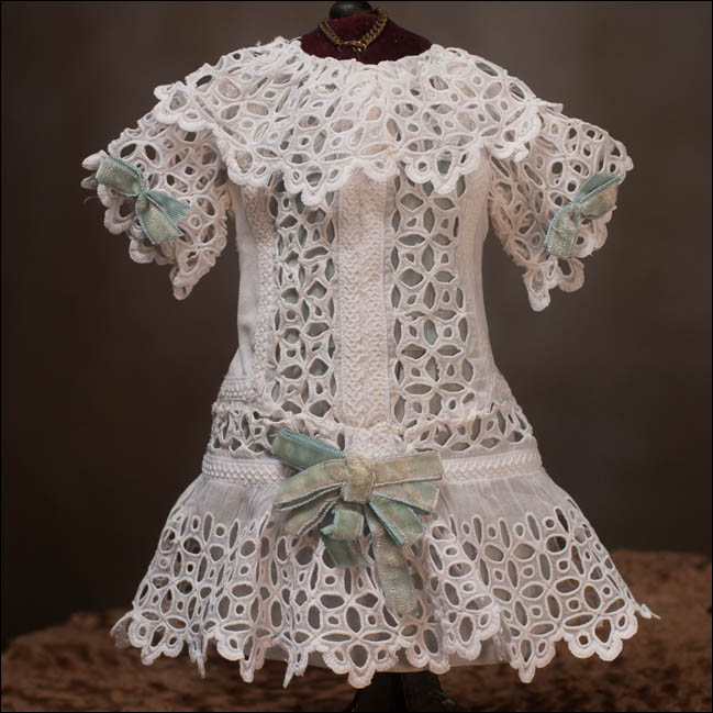 White Cutwork Dress