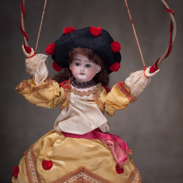 Doll with Hoop Toy