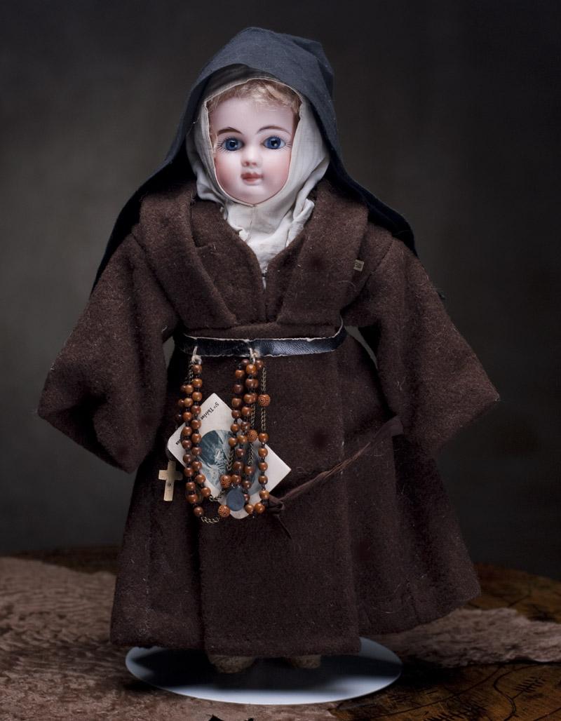 Редкая Кукла STEINER 30 см в оригинальном костюме монашки