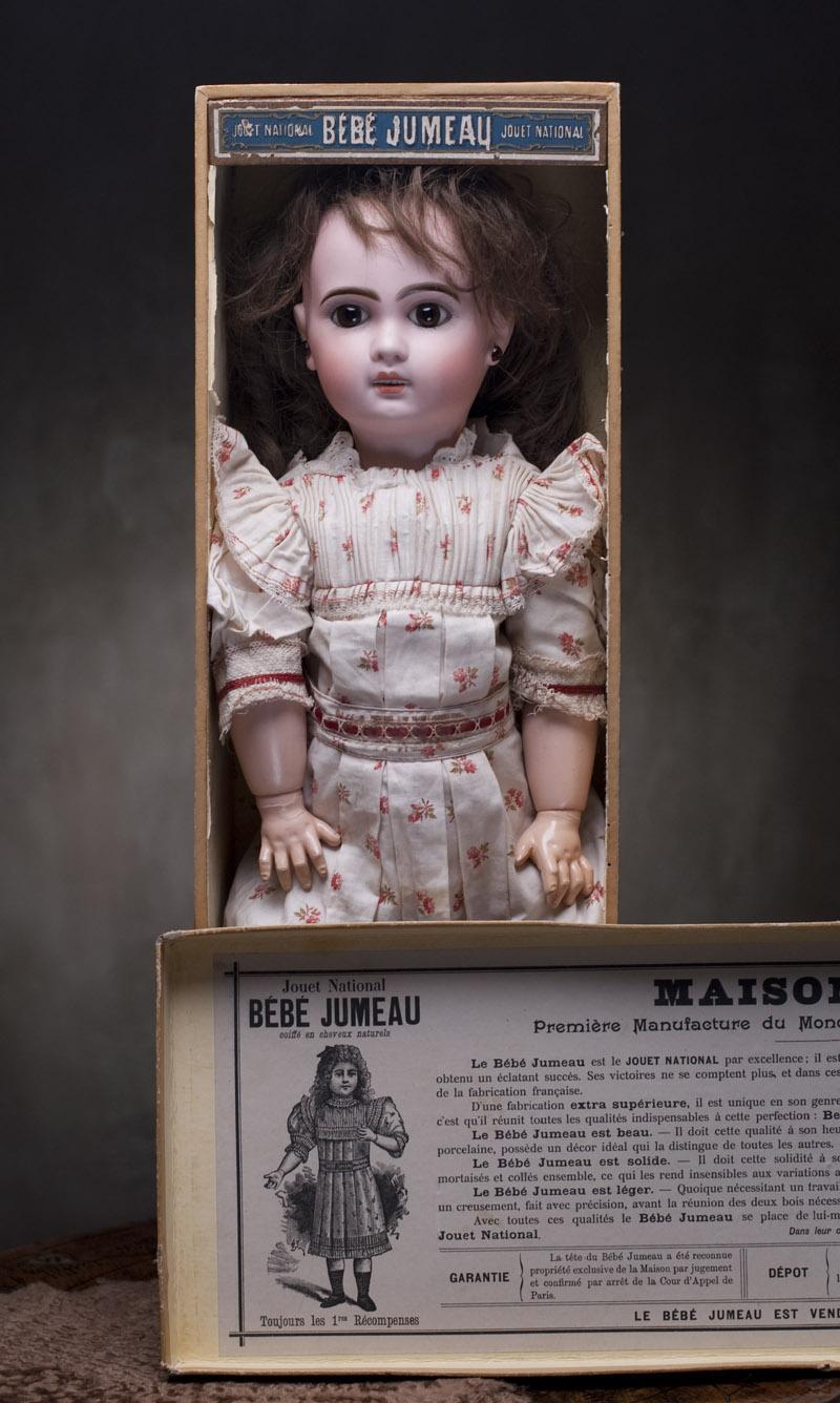 Кукла Jumeau в оригинальной коробке, 53 см, 1890г.