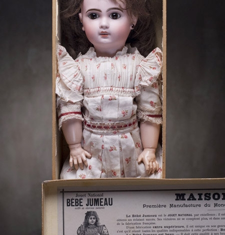 Fully original Jumeau doll  with box