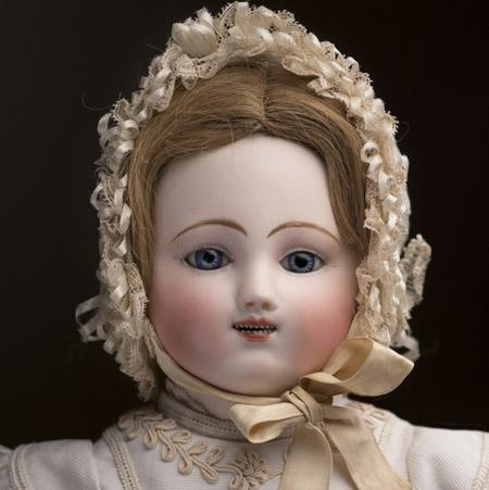 56 см Ранняя Механическпая Кукла Штайнер