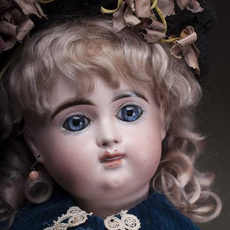Редчайшая кукла Bebe Henri ALEXANDRE