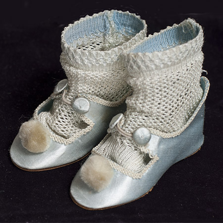Antique SIlk SHoes & Socks