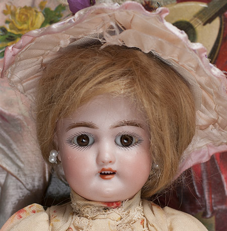 Small German Bisque Child Doll