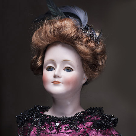 German Gibson Girl Doll by Kestner
