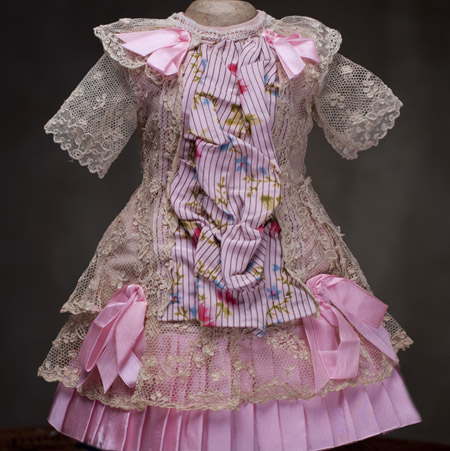 Antique Pink Doll Dress