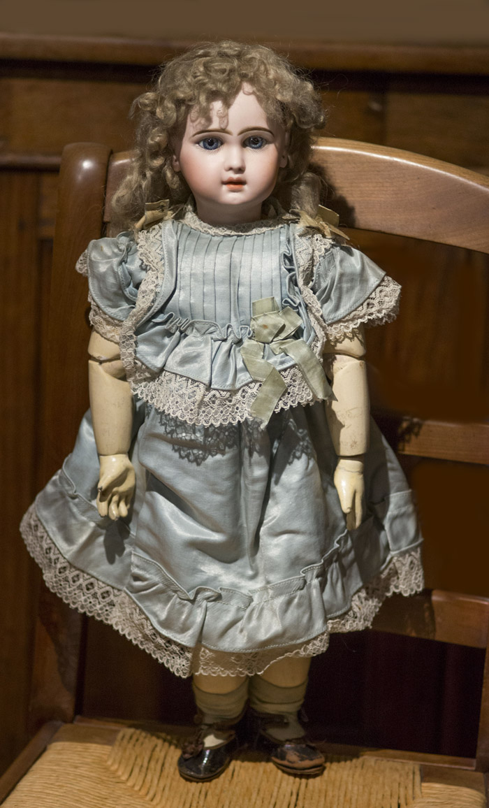 Очень редкая кукла Jumeau модель INTREPIDE, 53 см