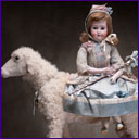 Automaton GIRL ON A SHEEP