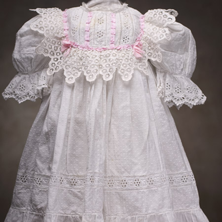 Antique WHite Original Batiste Dress