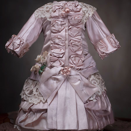 French Silk Couturier  Dress