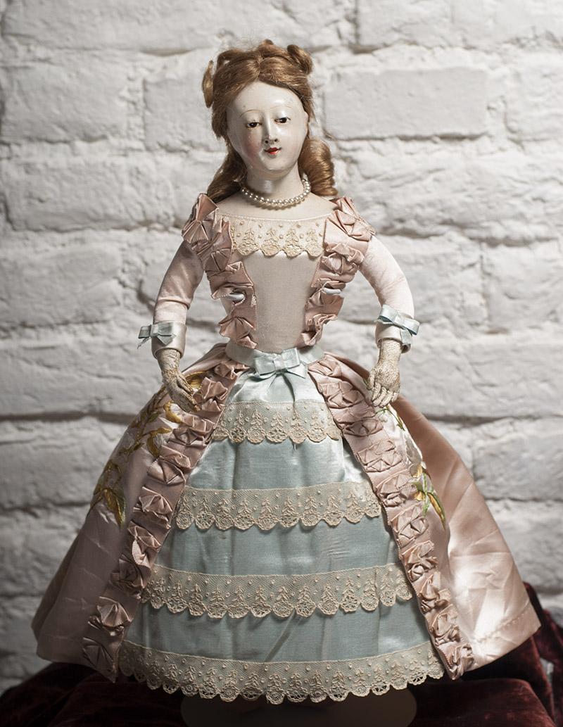 43 cм Очень редкая французская ранняя модная кукла (