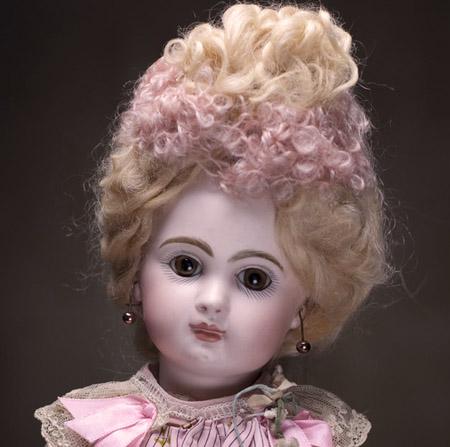 Cabinet size Jumeau doll