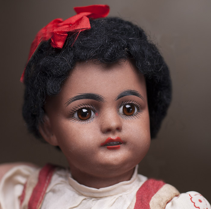 739 Mulatto small doll