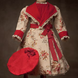 ANTIQUE DRESS FOR FRENCH DOLL