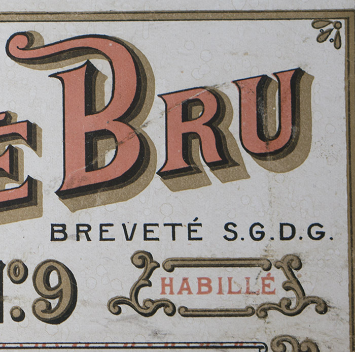 Antique Original Bru Bebe Box