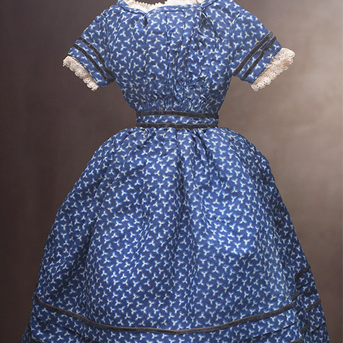 Original Dress for Large French Fashion doll