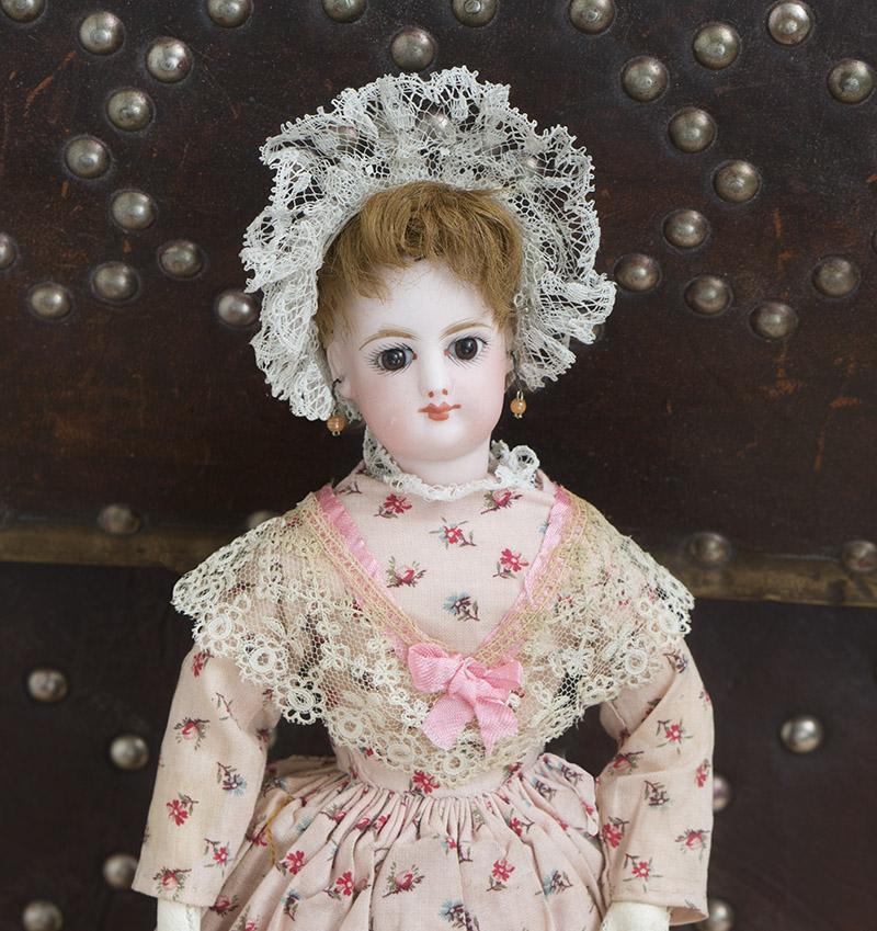 28 см Модная кукла Готье в оригинальномкстбме, 1875г.