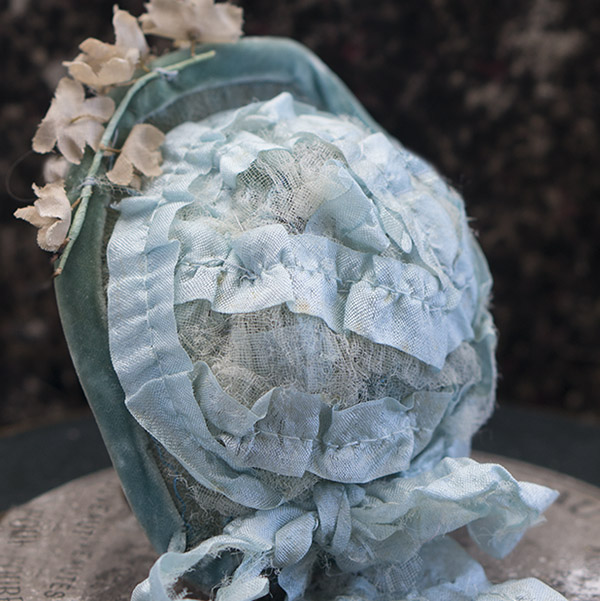 Antique Bonnet for French Fashion doll