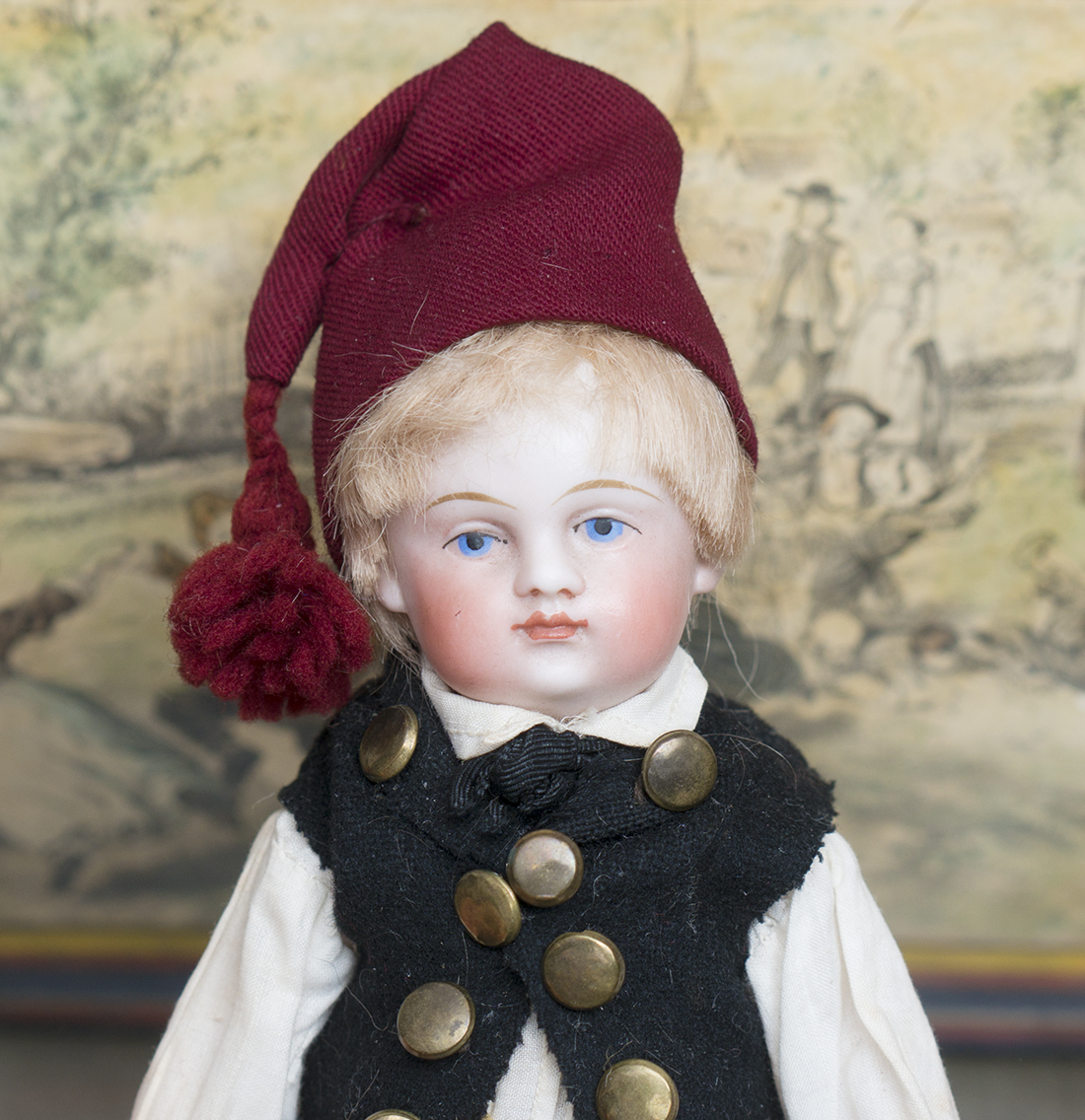 All Original Bisque Doll