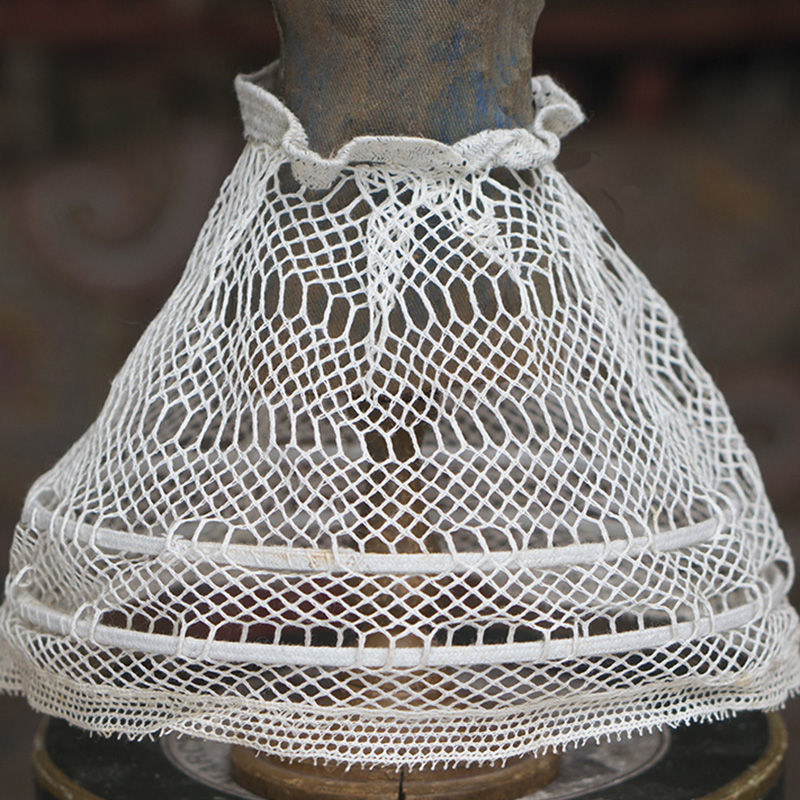 Antique Original French Crinoline