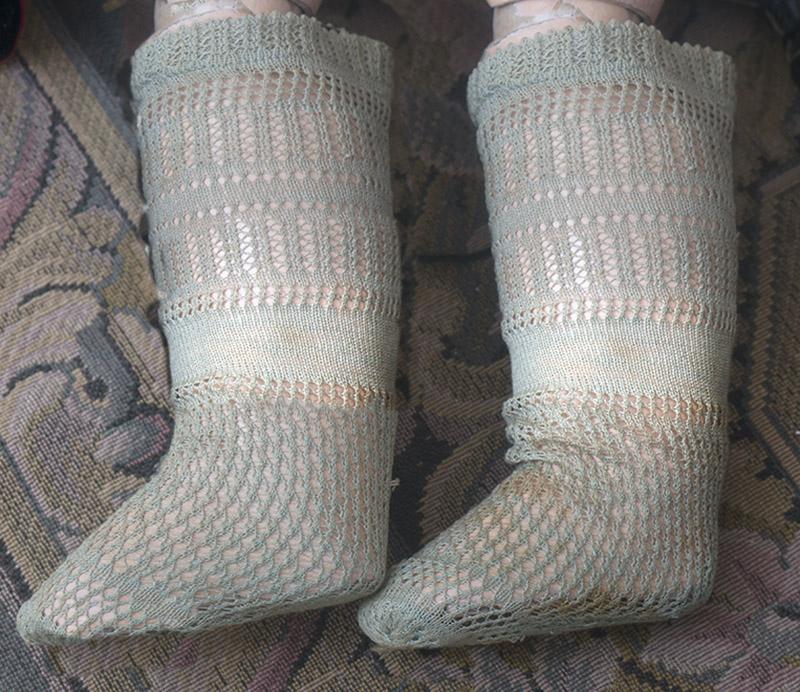 Antique Jumeau Socks