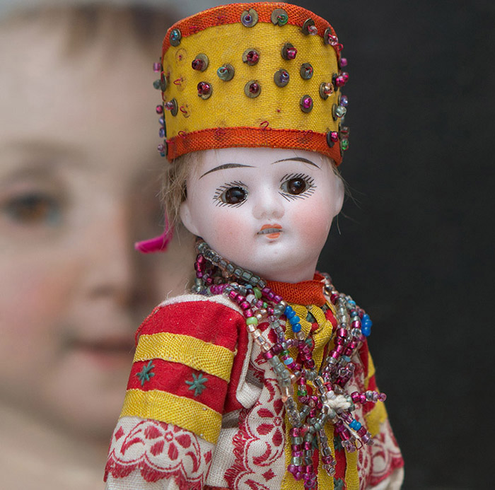 Rare Doll in Russian costume