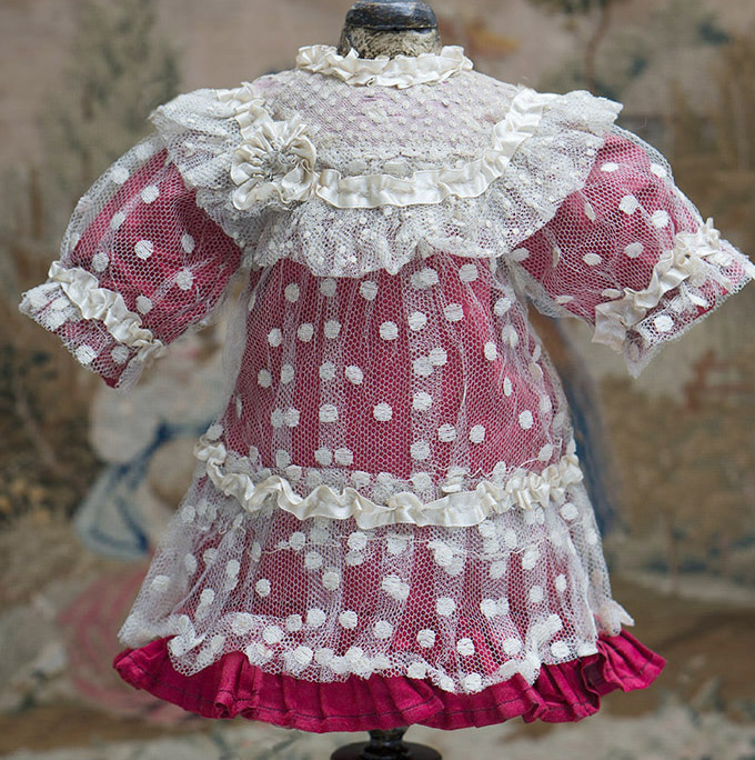 Dress for french bebe 15-16in