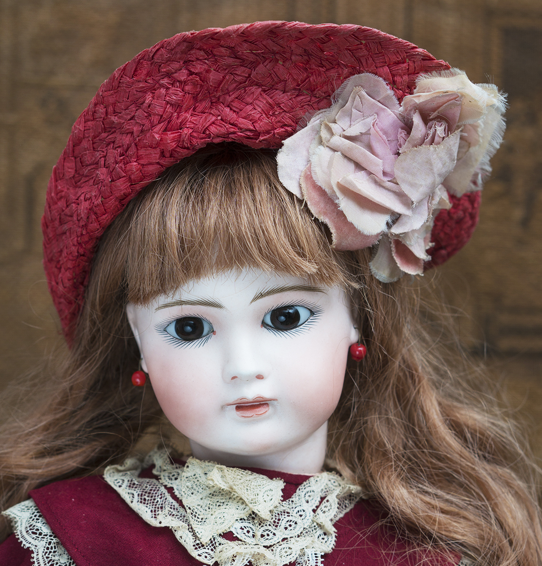 Antique Solid Dome head doll