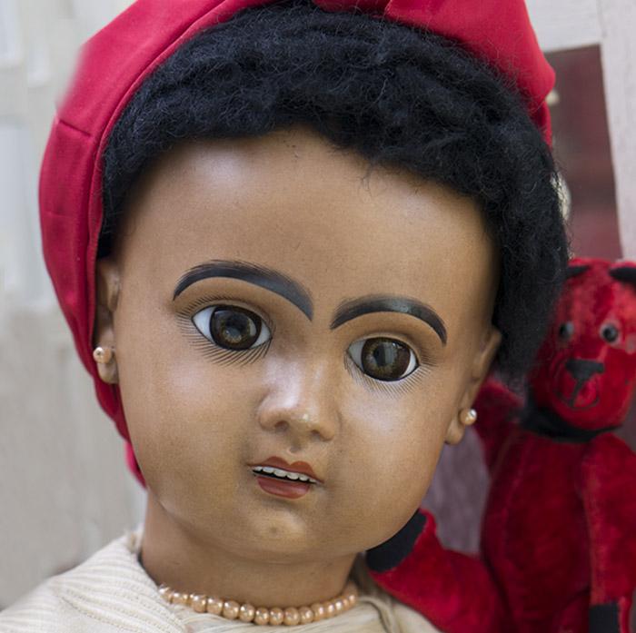 Brown Complexion Jumeau doll
