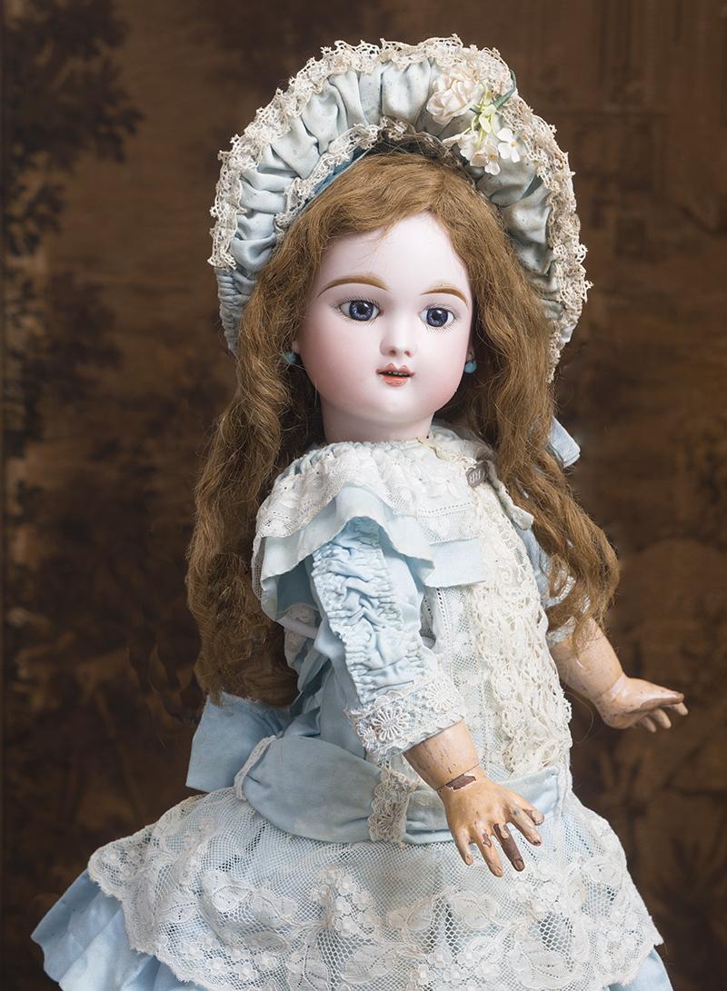 Редкая кукла Eden Bebe фирмы Fleischmann & Bloedel - 1890 годы, 61 см
