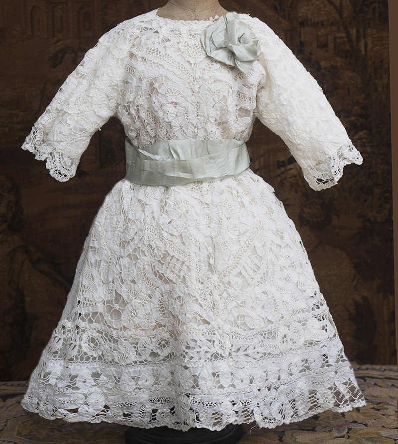 Antique Original Dress for Large doll