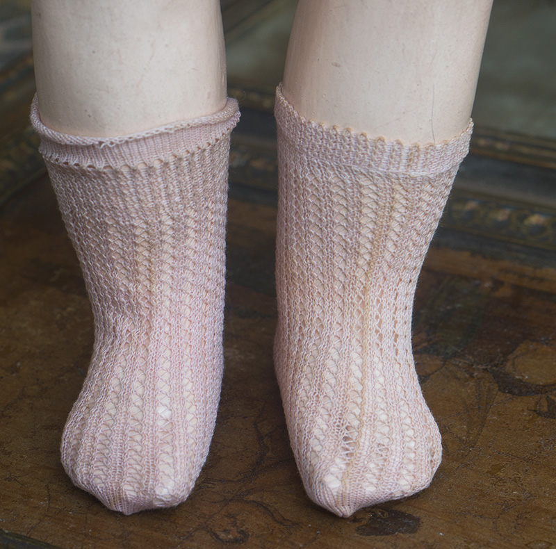 Antique Jumeau Socks