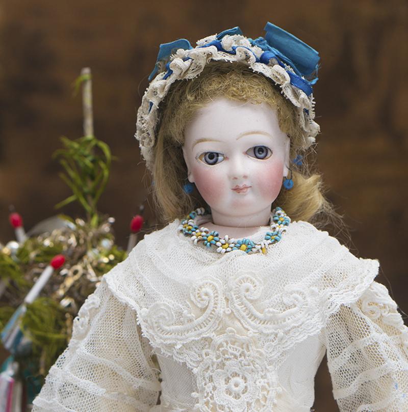 Antique French Fashion Jumeau doll