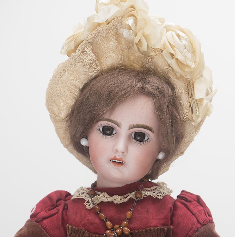 46 см Кукла  Jumeau   c открытым ртом