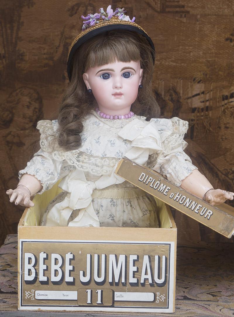64 см Кукла Jumeau Bebe в оригинальной коробке