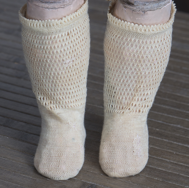 Antique  Original Doll Socks