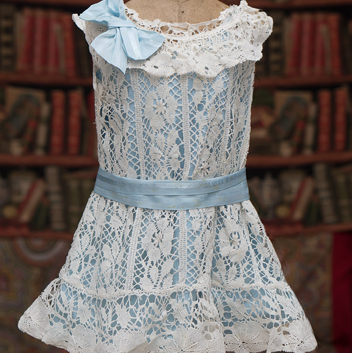 Antique Lace Dress and Chemise